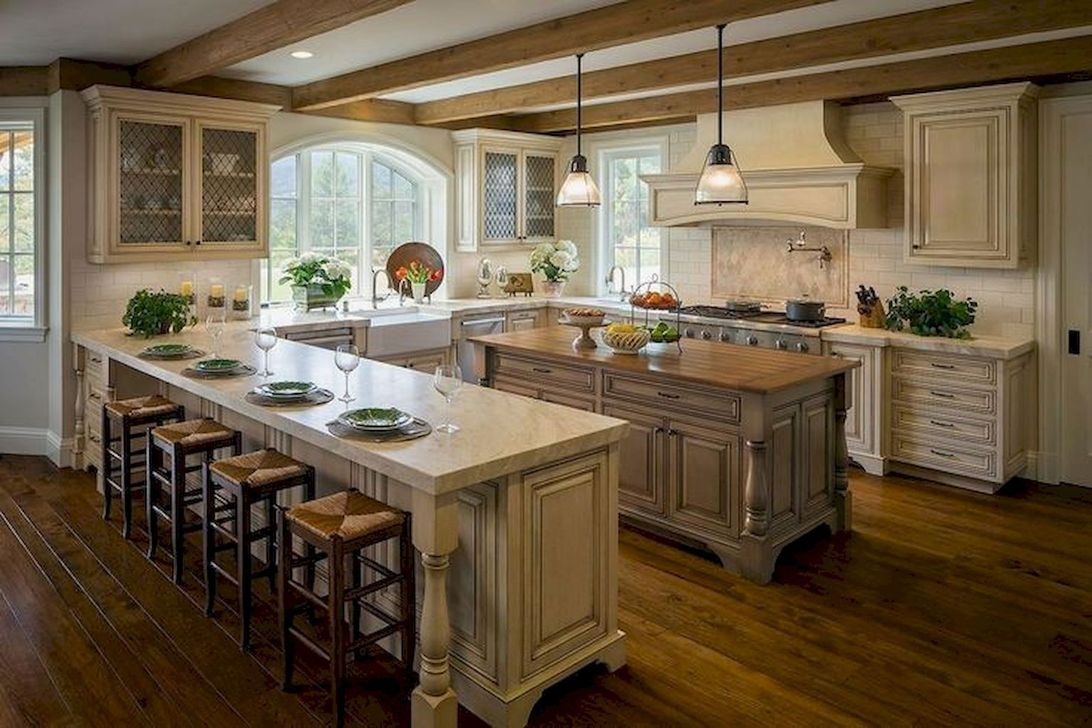Adorable Kitchen Cabinet Ideas That Looks Neat To Try 16