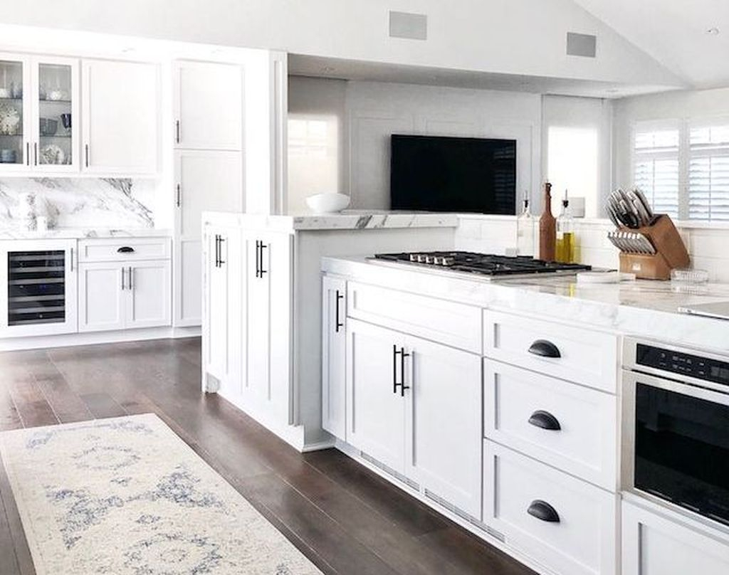 Adorable Kitchen Cabinet Ideas That Looks Neat To Try 17