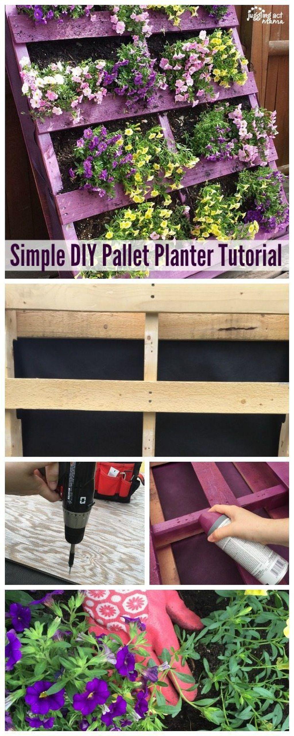 Brilliant Diy Projects Pallet Garden Design Ideas On A Budget 03