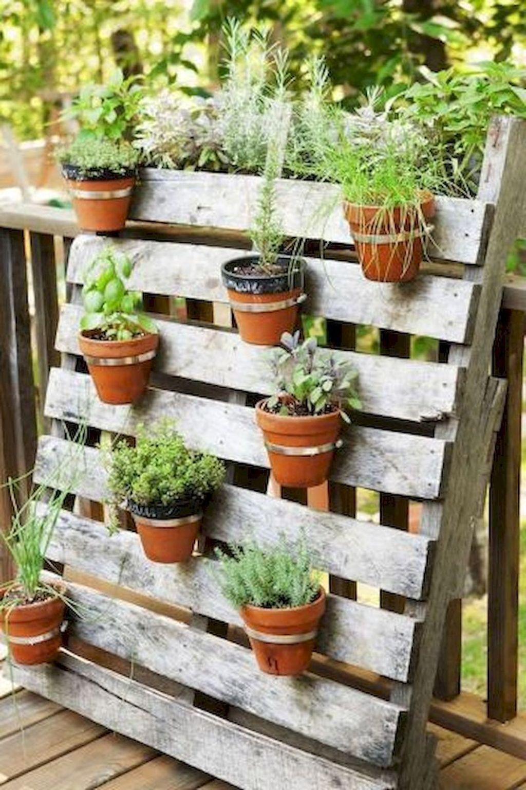 Brilliant Diy Projects Pallet Garden Design Ideas On A Budget 29