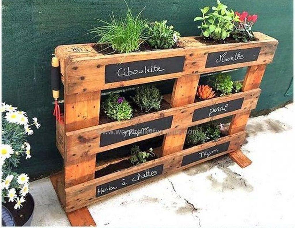 Brilliant Diy Projects Pallet Garden Design Ideas On A Budget 34