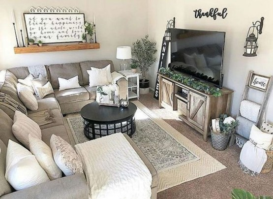 Catchy Farmhouse Apartment Interior Design Ideas To Try Now 15