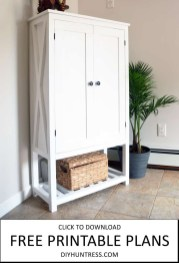 Cool Diy Wooden Cabinet Design Ideas For Book To Try 35