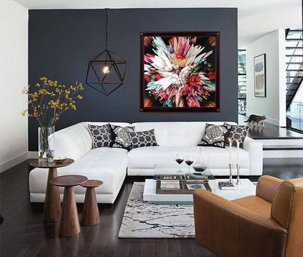 Cool Living Room Design Ideas To Make Look Confortable For Guest 05