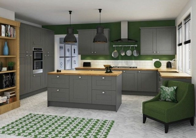 Hottest Wood Kitchen Set Design Ideas That You Can Try 03