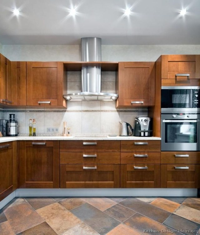 Hottest Wood Kitchen Set Design Ideas That You Can Try 06