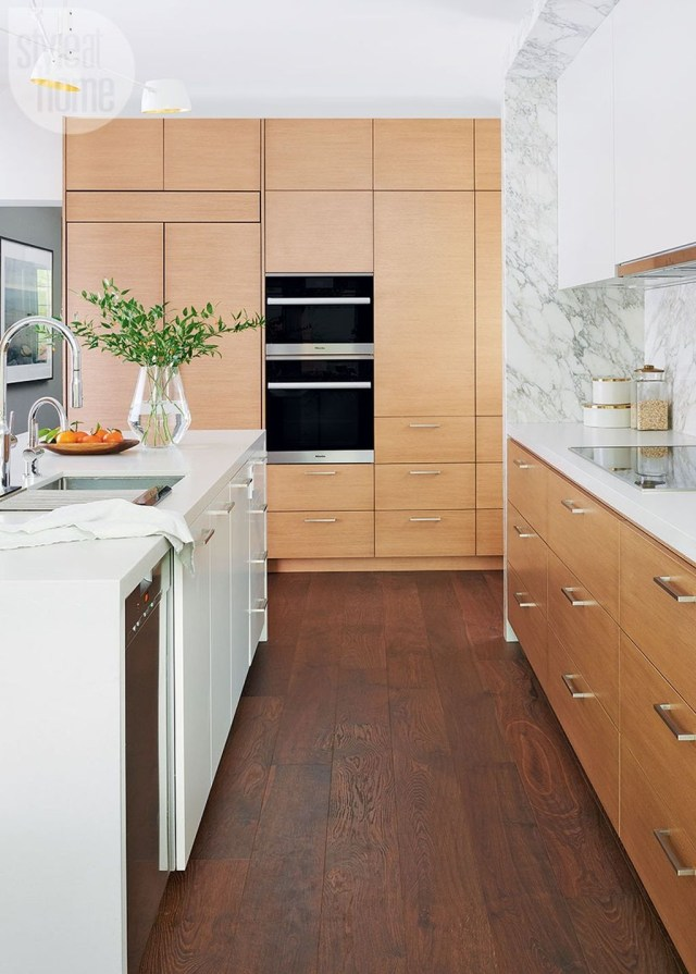 Hottest Wood Kitchen Set Design Ideas That You Can Try 19