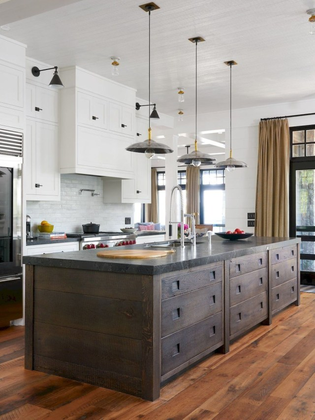 Hottest Wood Kitchen Set Design Ideas That You Can Try 23