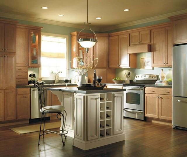 Hottest Wood Kitchen Set Design Ideas That You Can Try 34