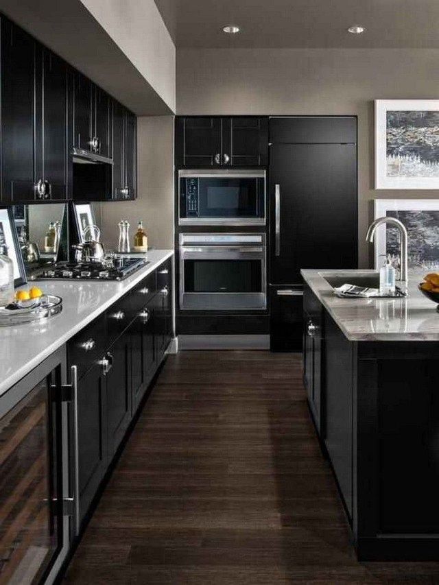 Hottest Wood Kitchen Set Design Ideas That You Can Try 40
