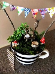 Inspiring Diy Teacup Mini Garden Ideas To Add Bliss To Your Home 29