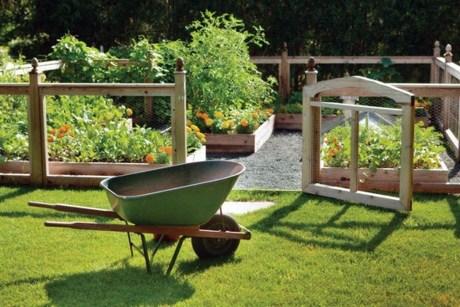 Lovely Vegetable Garden Decoration Ideas For You 08