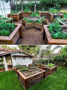 Lovely Vegetable Garden Decoration Ideas For You 30