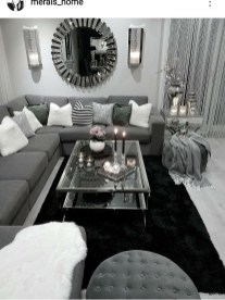 Luxury Living Room Design Ideas With Gray Wall Color 02