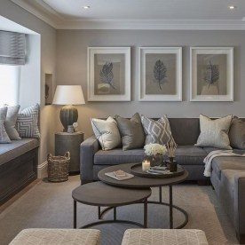 Luxury Living Room Design Ideas With Gray Wall Color 03