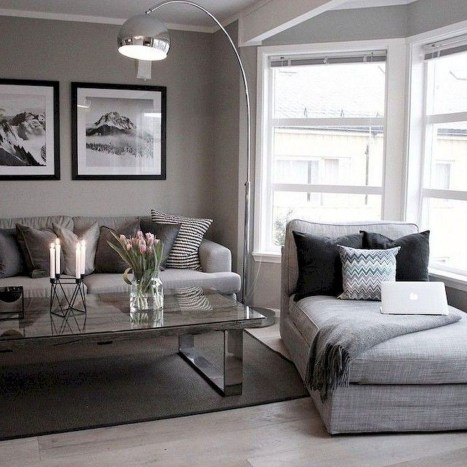 Luxury Living Room Design Ideas With Gray Wall Color 06
