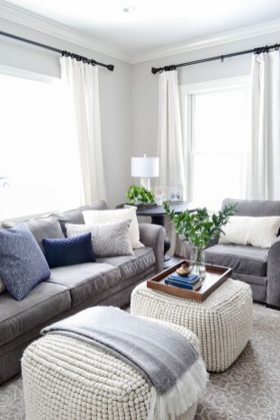 Luxury Living Room Design Ideas With Gray Wall Color 07