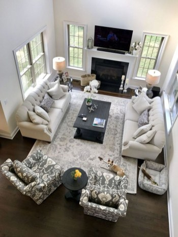 Luxury Living Room Design Ideas With Gray Wall Color 08