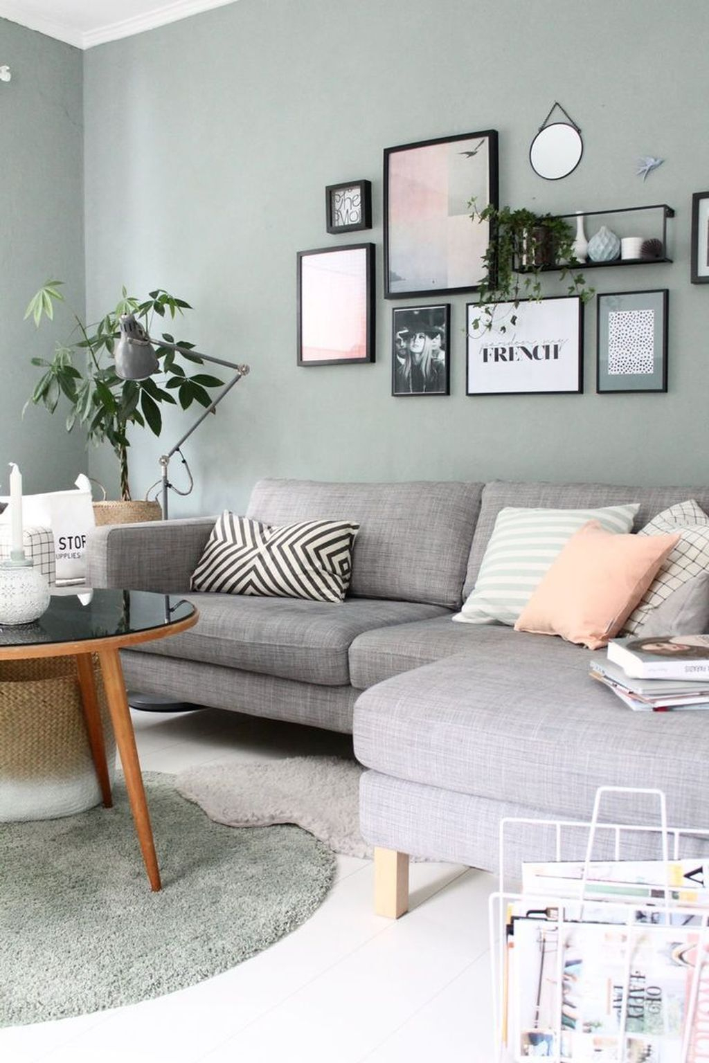 Luxury Living Room Design Ideas With Gray Wall Color 29