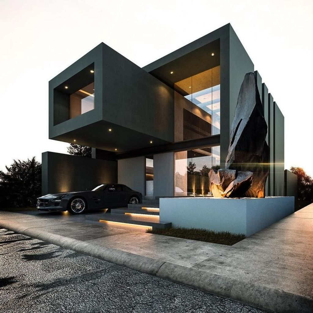Magnificient Exterior Design Ideas To Try Asap 07