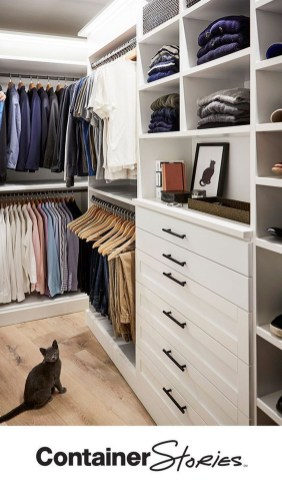 Modern Wardrobe Design Ideas You Can Copy Right Now 38