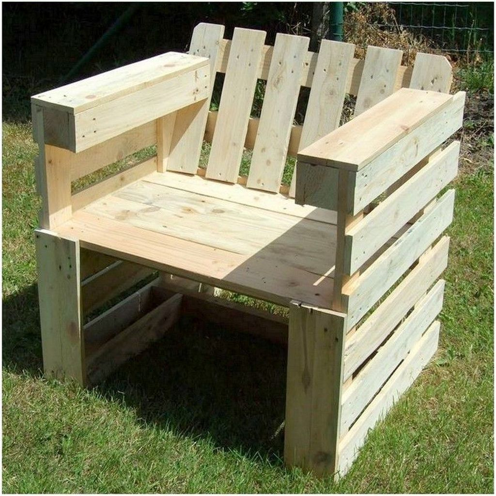 Popular Diy Chair Pallet Design Ideas That You Can Try 02