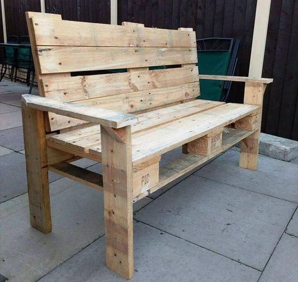 Popular Diy Chair Pallet Design Ideas That You Can Try 04