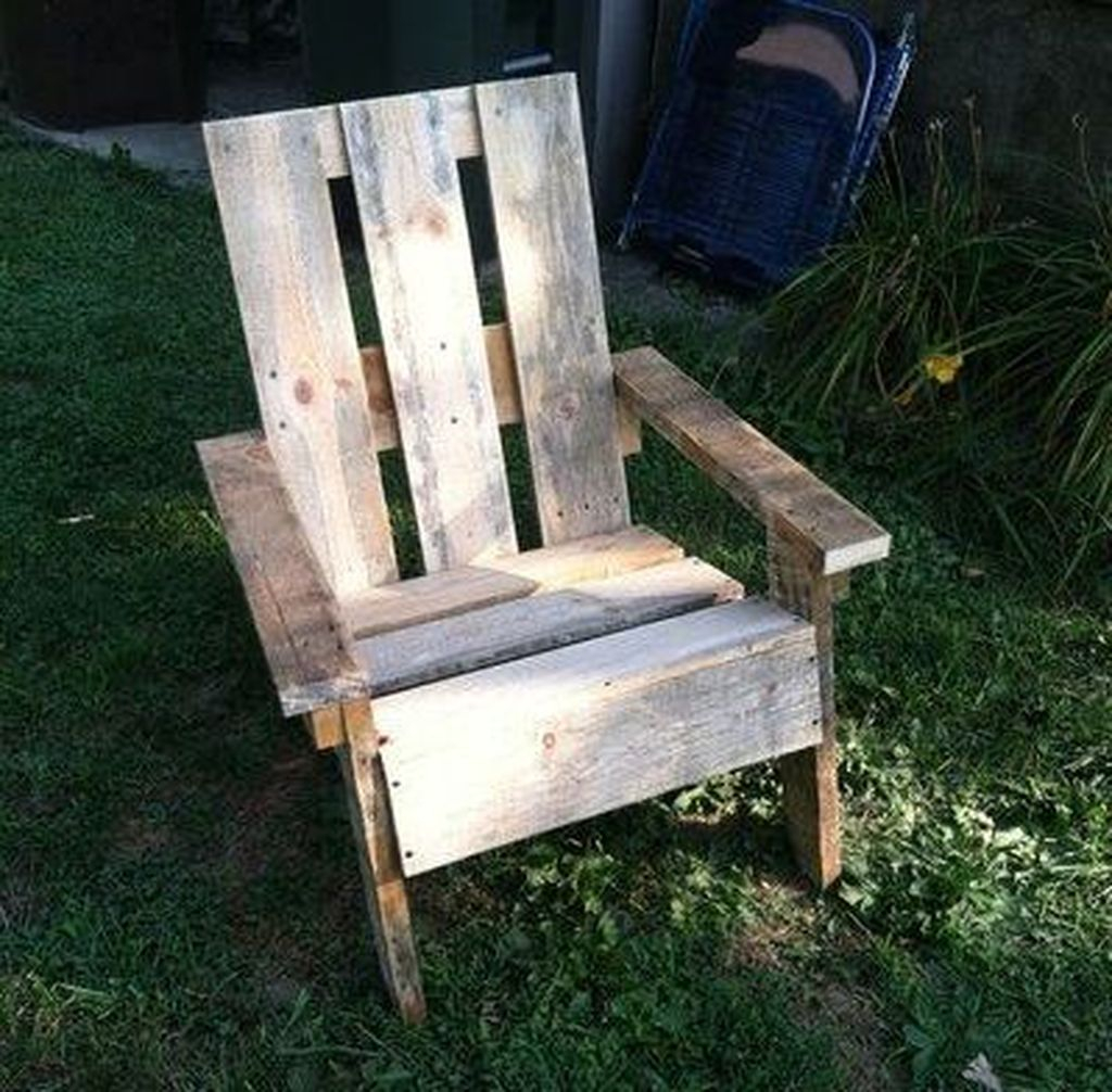 Popular Diy Chair Pallet Design Ideas That You Can Try 05