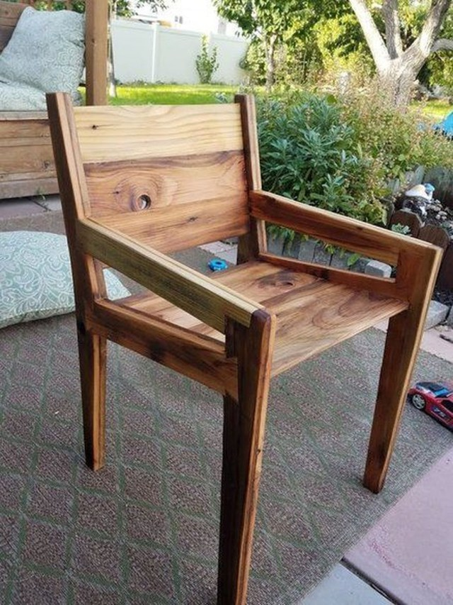 Popular Diy Chair Pallet Design Ideas That You Can Try 09