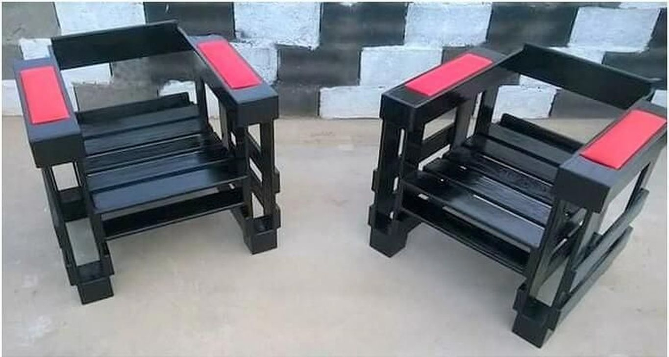 Popular Diy Chair Pallet Design Ideas That You Can Try 24