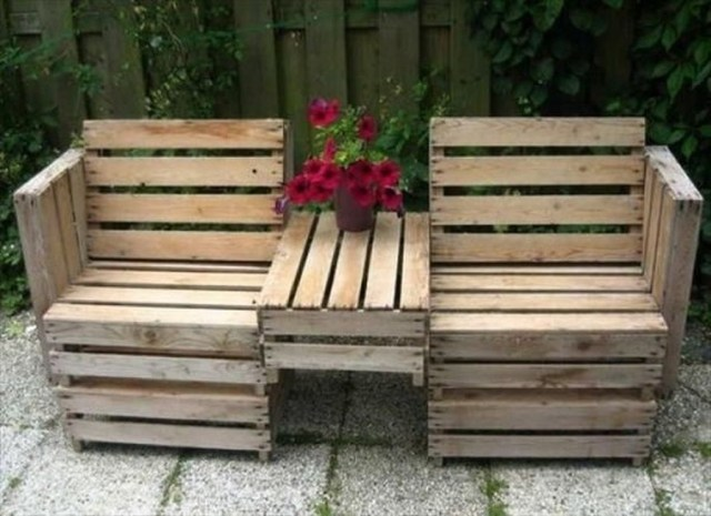 Popular Diy Chair Pallet Design Ideas That You Can Try 30