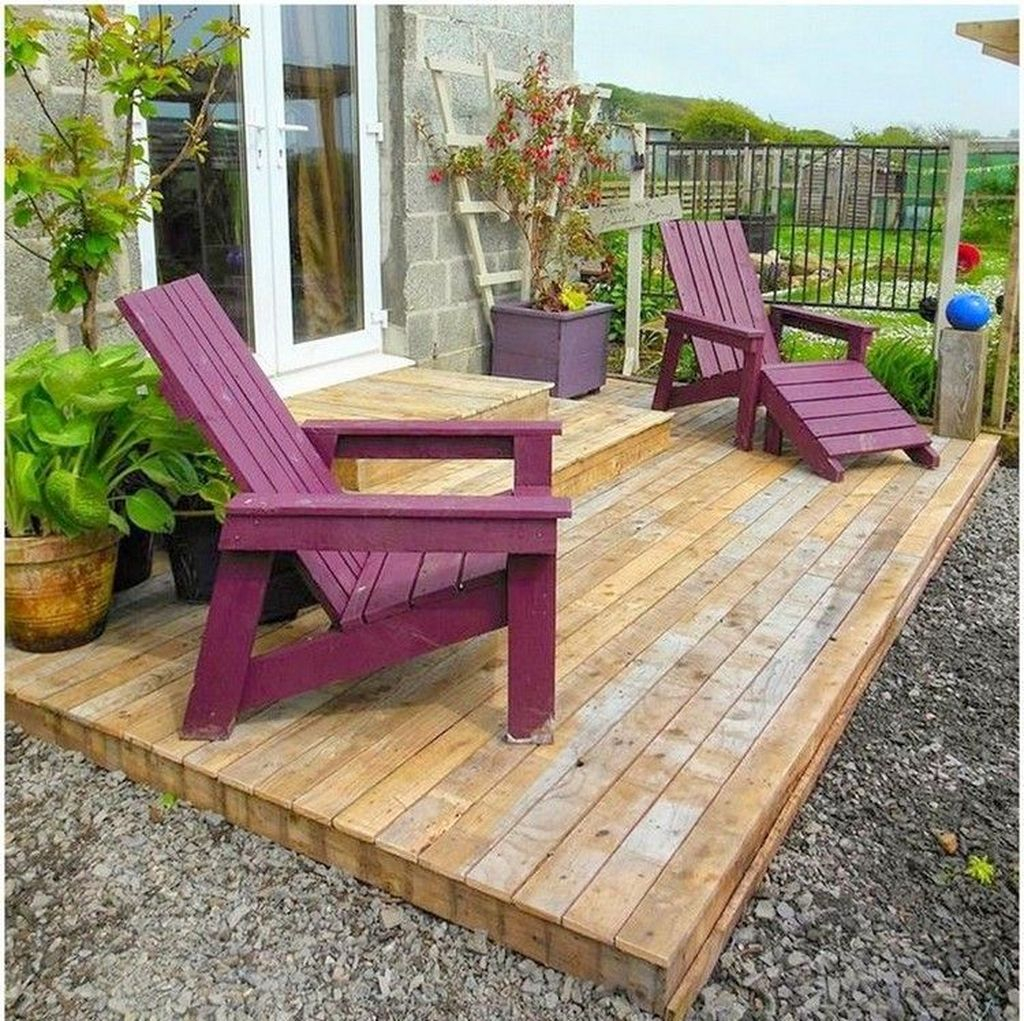 Popular Diy Chair Pallet Design Ideas That You Can Try 35