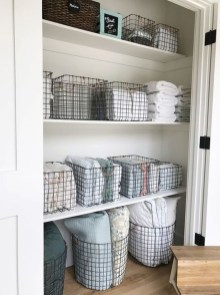 Smart Linen Closet Organization Makeover Ideas To Try This Year 07