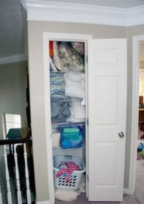 Smart Linen Closet Organization Makeover Ideas To Try This Year 08