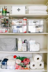 Smart Linen Closet Organization Makeover Ideas To Try This Year 29