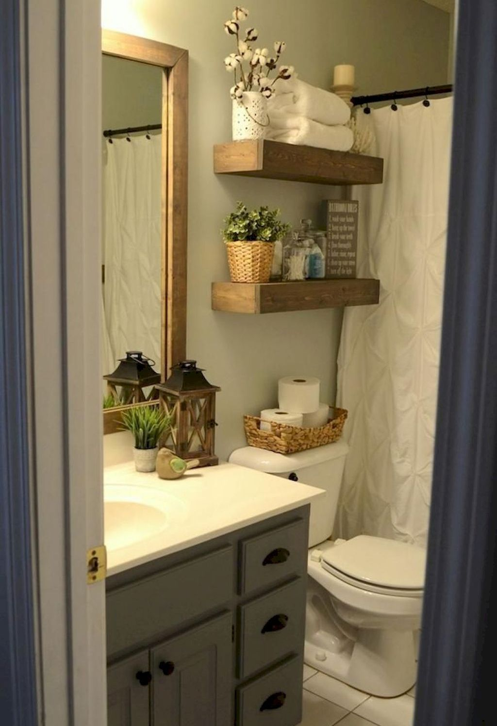 Spectacular Small Bathroom Organization Tips Ideas To Try Now 29