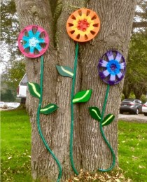 Stylish Diy Painted Garden Decoration Ideas For A Colorful Yard 05