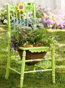 Stylish Diy Painted Garden Decoration Ideas For A Colorful Yard 16