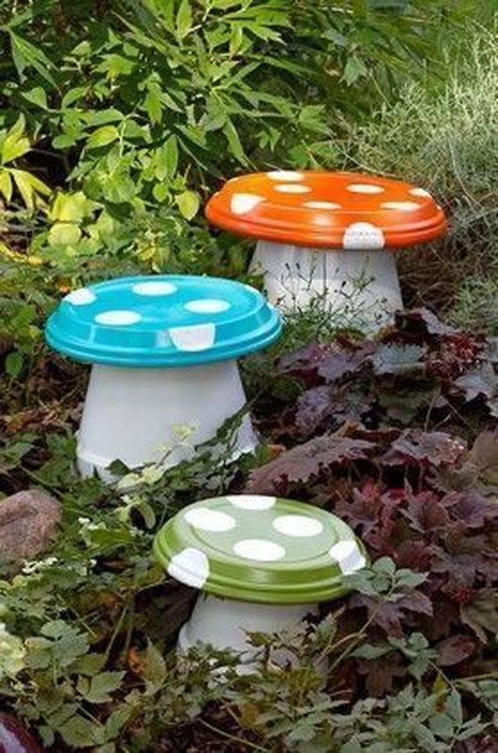 Stylish Diy Painted Garden Decoration Ideas For A Colorful Yard 20