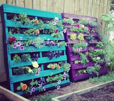 Stylish Diy Painted Garden Decoration Ideas For A Colorful Yard 29