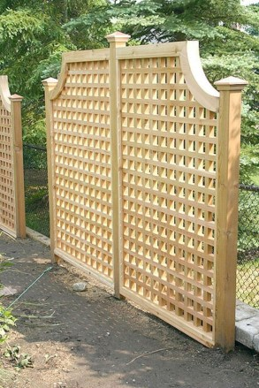 Charming Privacy Fence Design Ideas For You 35