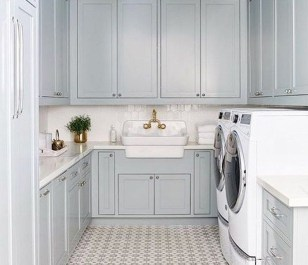 Elegant Laundry Room Design Ideas To Copy Today 34