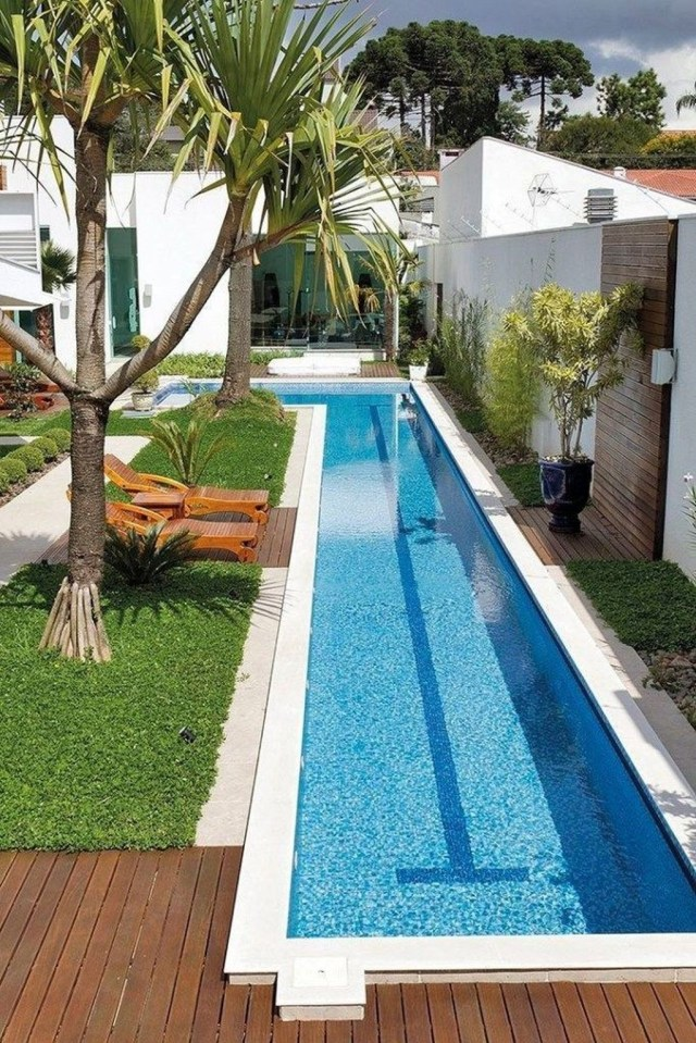 Excellent Small Swimming Pools Ideas For Small Backyards 14