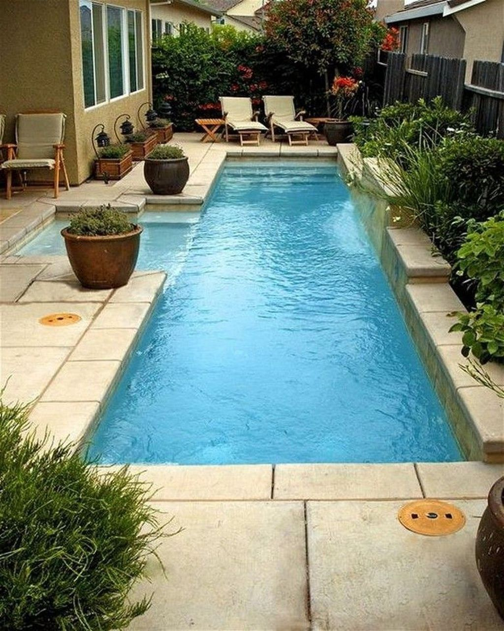 Excellent Small Swimming Pools Ideas For Small Backyards 41