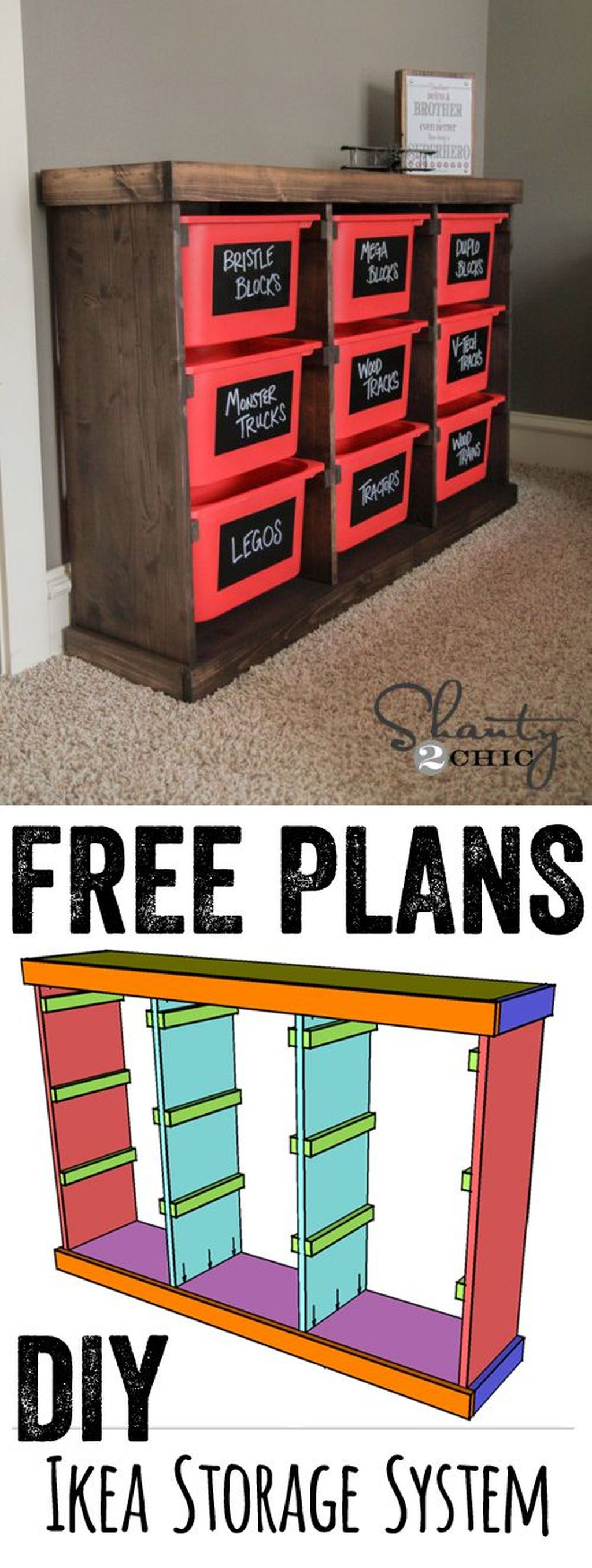 Fancy Diy Organizing Storage Projects Ideas To Try 24