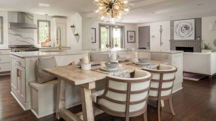 Fantastic Kitchen Table Design Ideas That Will Make Your Home Looks Cool 07