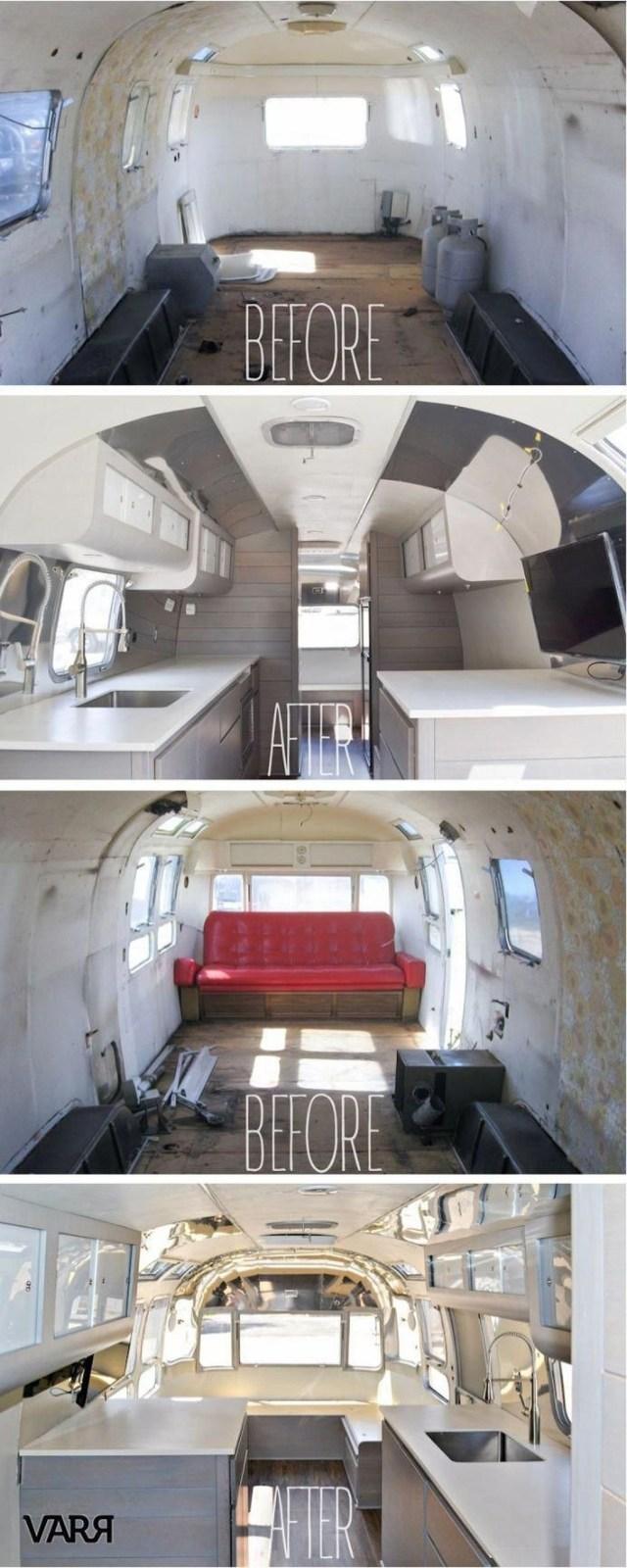 Impressive Airstream Interior Design Ideas To Try 10