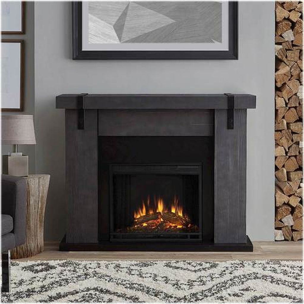 Luxury Clad Cover Fireplace Ideas To Try 09