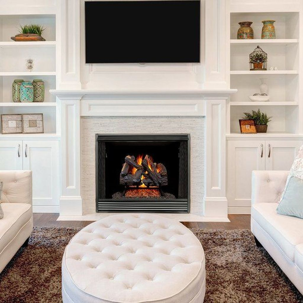 Luxury Clad Cover Fireplace Ideas To Try 15