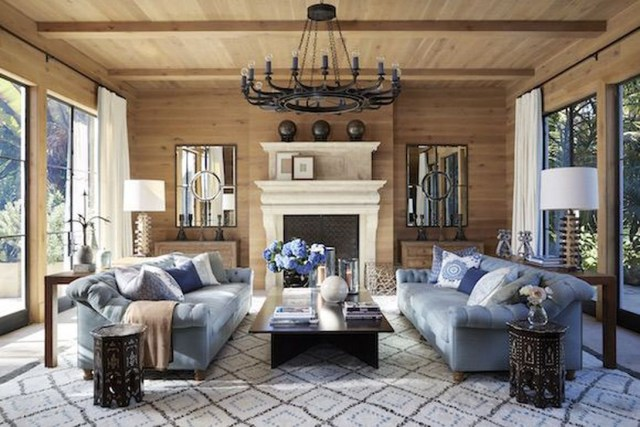 Luxury Clad Cover Fireplace Ideas To Try 21